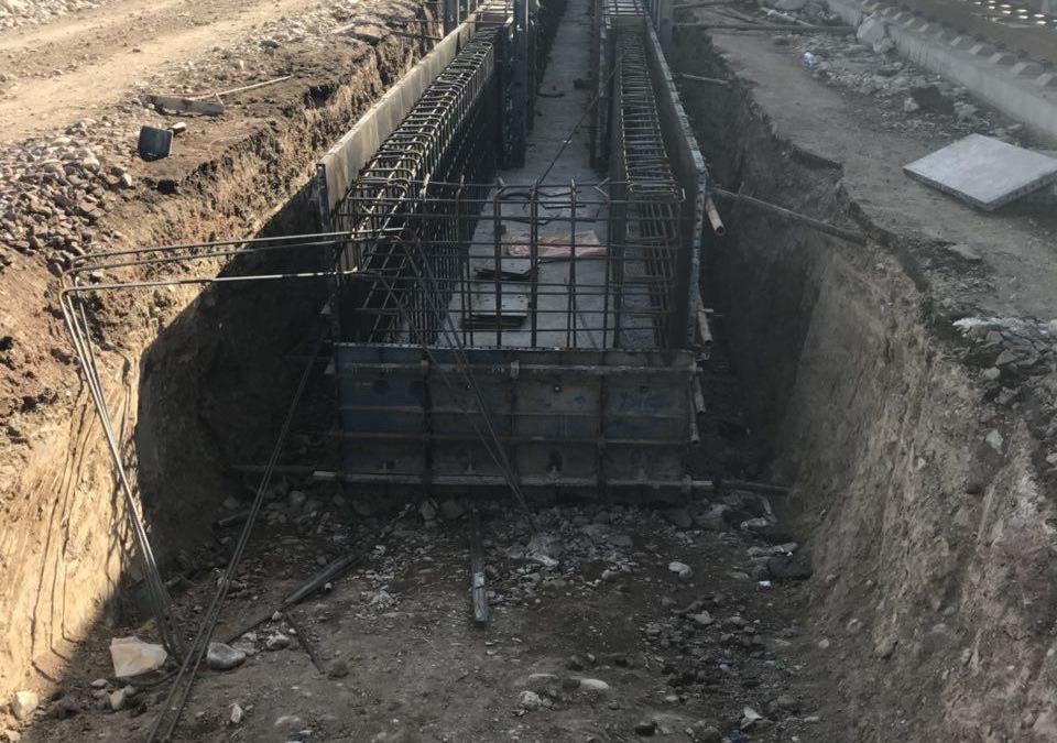 راه آهن جمهوری اسلامی ایران - تهران | کنترل و تضمین کارهای بتنی توسط شرکت سلمان