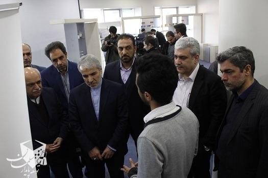 بازدید رییس سازمان برنامه و بودجه از سلمان